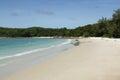 Ruhiger tag am hut sai kaew beach bei koh samet in thailand Lizenzfreie Stockfotos