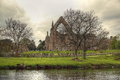 Ruin of Bolton Abbey. Royalty Free Stock Photography