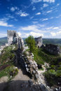 Ruin of castle Gymes Royalty Free Stock Photography