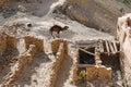 Ruin in Chenini (Tunisia) Royalty Free Stock Photo