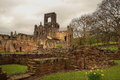 Ruin of Kirkstall Abbey Royalty Free Stock Photos