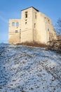 Ruin of Renaissance castle in Kazimierz Dolny Royalty Free Stock Photography