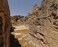 Ruin of roman amphitheatre at Italica, Roman city in the province of Hispania Baetica