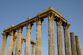Ruin of roman antic temple Royalty Free Stock Images