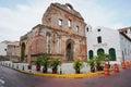 Ruin of the santo domingo convent in panama city casco viejo central america Stock Photo