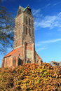Ruin of st mary church in wismar germany Royalty Free Stock Photography