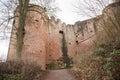 Ruine Hardenburg Royalty Free Stock Photo