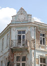 Ruined building in varna bulgaria Royalty Free Stock Photography