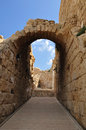 Ruined Caesarea. Stock Photos