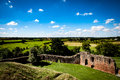 Ruined castle Royalty Free Stock Photo