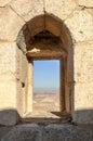 Ruined castle Shobak Royalty Free Stock Photo
