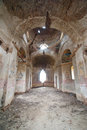 Ruined church an orthotox in ruins Royalty Free Stock Photography
