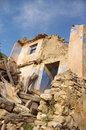 Ruined house and abandoned in spain Royalty Free Stock Image