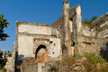 Ruined house from Kayakoy, Fethiye Royalty Free Stock Photo