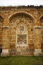 Ruined Monastery Window Royalty Free Stock Photos