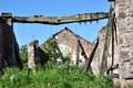Ruined Old Farm Barn Royalty Free Stock Photo