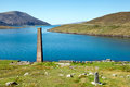 Ruined Whaling Station, Isle of Harris, Scotland Royalty Free Stock Image