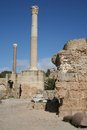Ruines de Carthage Images stock