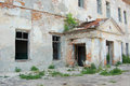 Ruines of old abandoned building Stock Photography