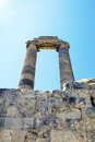 Ruines of temple of apollo in antique city of didyma stock photo ruins didim Royalty Free Stock Photo