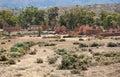 Ruins of abandon kanyaka homestead south australia flinders ranges Royalty Free Stock Photos
