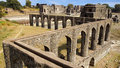 Ruins of Afghan architecture in Mandu, India Royalty Free Stock Photography