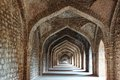 Ruins of afghan architecture in mandu india Stock Photography