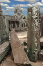 Ruins of ancient angkor wat hindu temple cambodia south east asia Royalty Free Stock Photos
