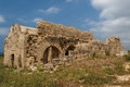 Ruins of the ancient byzantine city of afendrika north cyprus Stock Image