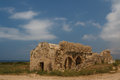 Ruins of the ancient byzantine city of afendrika north cyprus Stock Photo