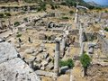 Ruins of the ancient city Ephes Royalty Free Stock Photo
