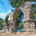 Ruins of the ancient city of Phaselis
