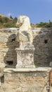 Ruins of the ancient greek city ephesus in izmir turkey Stock Images