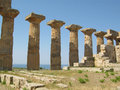 Ruins Of Ancient Greek Temple ...