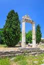 Ruins of Ancient Gymnasion, Kos, Greece Stock Image
