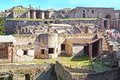 Ruins of Ancient Pompeii Royalty Free Stock Photo