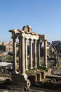 Ruins of Ancient Rome Royalty Free Stock Photography