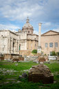 Ruins of Ancient Rome Royalty Free Stock Photo