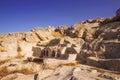 The ruins of Ancient Thera, Santorini Royalty Free Stock Photo