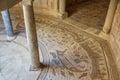 Ruins of ancient Villa Romana del Casale, Sicily island Royalty Free Stock Photo