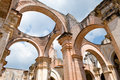 Ruins of Antigua Cathedral Stock Photos