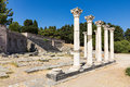Ruins of Asklepieion Royalty Free Stock Photo
