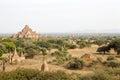 Ruins of Bagan, Myanmar Royalty Free Stock Photo