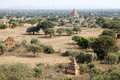 Ruins of Bagan, Myanmar Royalty Free Stock Photo