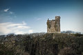 Ruins of Ballinalacken Castle Royalty Free Stock Photo
