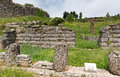 Ruins of bouleuterion in ancient dodona epirus greece northwestern was an oracle devoted to a mother goddess identified at other Royalty Free Stock Image