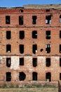 Ruins of brick building. Stock Photos