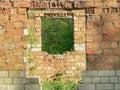 Ruins of brick/stone building Royalty Free Stock Photo