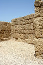 Ruins of Caesarea, Israel Stock Photo