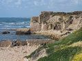 Ruins of Caesarea Israel Stock Photography